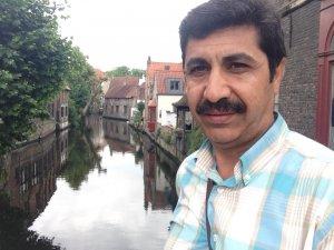Mehmet Emin Yalçınkaya Belçika'da Bruj şehrinde
