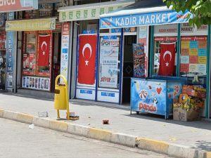 Ömerli'deki terör saldırısına Mardinlilerden tepki