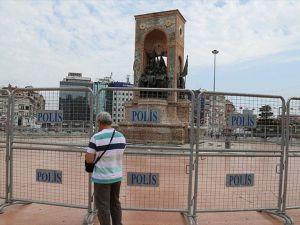 Taksim Meydanı'nda güvenlik önlemleri alındı