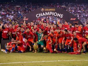 Copa America'da şampiyon Şili
