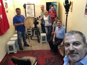 TRT ekibi KOHEM çekimleri için şehrimizde