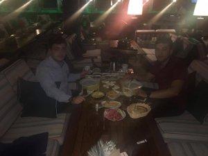Muhammed Polat ile Buğra Gülüm Kahvehan'da sahurda