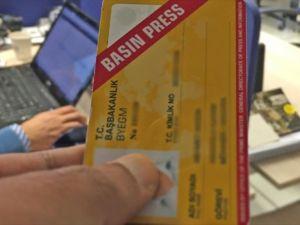 Basın kartı almaya hak kazananlar açıklandı