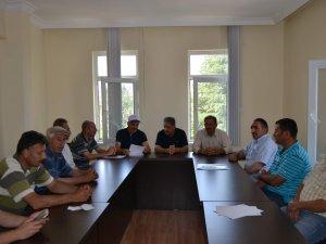 Biçerdöver toplantısı yapıldı