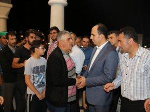 Başkan Altay teravih buluşmalarını sürdürüyor