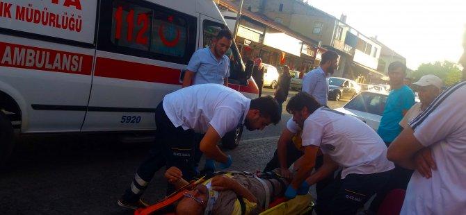 Konya'da İftar Saatinde Trafik Kazası