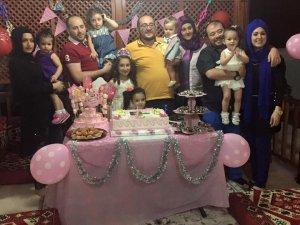 Ceylan ailesinin mutlu günü
