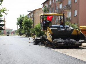 Seydişehir'de asfalt çalışmaları sürüyor
