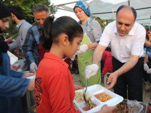 Beyşehir'de iftar çadırı geleneği