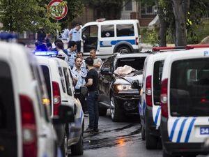 Hırsızlık zanlılarından polise silahla saldırı