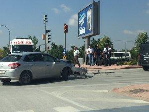 Beyşehir Yolu'nda trafik kazası