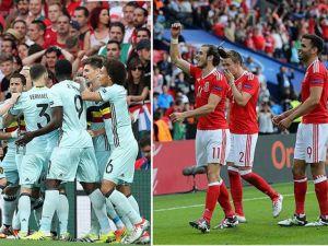 EURO 2016'da Galler ile Belçika sahaya çıkıyor