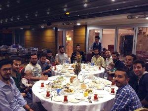 The Medıatix Prodüksiyon şirketinin elamanları Paşa Park Otel'de