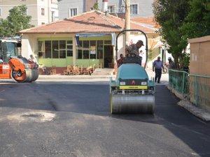 Ereğli'de asfalt çalışmaları devam ediyor