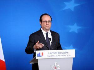 Hollande: İngiltere'nin AB'den ayrılma kararı iptal edilemez