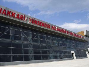 Selahaddin Eyyubi Havalimanı'na 11 ay sonra ilk kez uçak indi