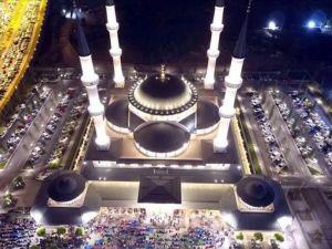 Beştepe Millet Camii'nde Kadir Gecesi idrak edildi