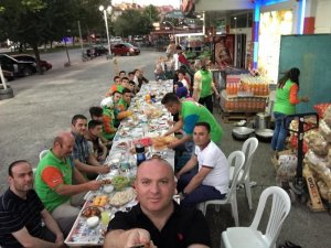 Ali Kaya Havzan şubesi ekibi ile iftarda