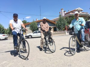 Ahmet İzgi'nin bisiklet hobisi