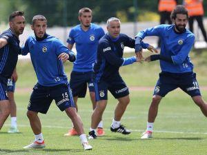 Fenerbahçe Düzce kampında ilk çalışmasını yaptı