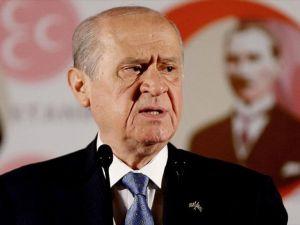 MHP Genel Başkanı Bahçeli Ramazan Bayramı mesajı yayımladı