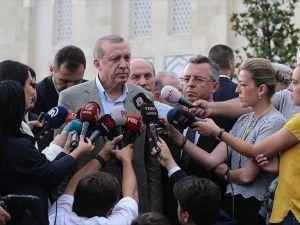 Erdoğan: Halkımızı meydanlara bekliyoruz