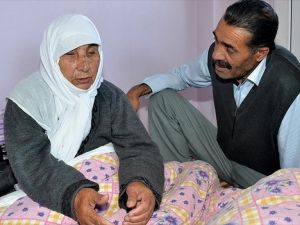 117 yaşında 32 torununun torununu gördü