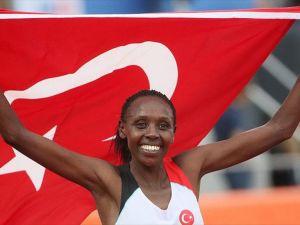 Milli atlet 10 bin metrede altın madalya kazandı
