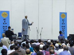 ABD'de Müslümanlar Ramazan'ı Navy Pier'de kutladı