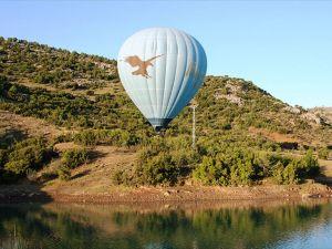 """Burdur'da """"balon turizmi"""" başlıyor"""