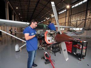 UZAYTEM tek motorlu uçakların bakımını yapacak