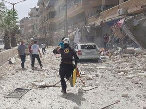 İdlib'e hava saldırısı: 15 ölü, 20 yaralı