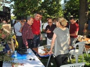 Sezgin ve Akkaya'dan Sanata Saygı Platformuna ziyaret