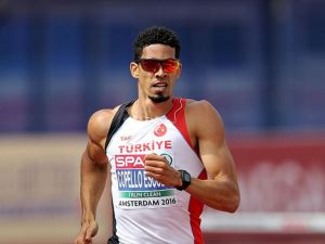 Milli atlet Escobar 400 metrede altın madalya kazandı