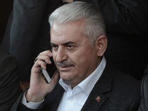 Başbakan Yıldırım, IKBY Başbakanı Barzani ile görüştü
