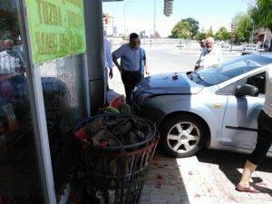 Meram Yaka'da yine kaza