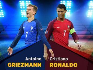 Ronaldo ile Griezmann'ın düellosu