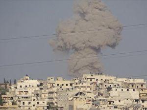 Halep'e vakum bombalı saldırı: 3 ölü, 13 yaralı