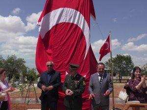 Hüyük'te İmrenler Şehit ve Gaziler Anıtı açıldı