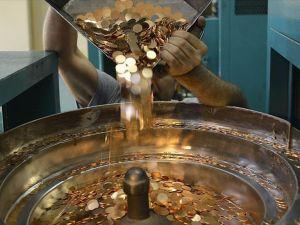 Darphane'nin beşlik altın üretimi yüzde 44 arttı