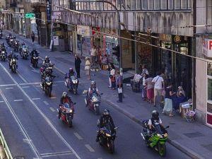 Srebrenitsa kurbanları anısına motosiklet maratonu