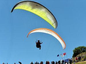 Kayseri'de Uluslararası Yamaç Paraşütü Şampiyonası başladı