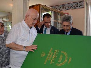 TBMM Başkanı Kahraman Roma Camisi'ni ziyaret etti