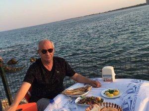 Mustafa Ünal'ın deniz ve balık keyfi