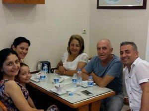 Ahmet Abalı, yeğenleriyle