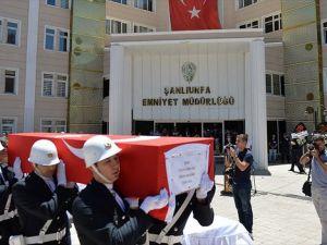 Şanlıurfa'da şehit olan polis memuru Çalışkan toprağa verildi