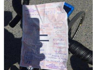 Bisiklet sürücüsüne 92 TL trafik cezası