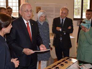 TBMM Başkanı Kahraman Roma'da Yunus Emre Enstitüsü'nü ziyaret etti