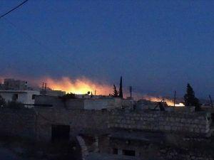 Suriye'de mülteci kampına misket bombalı saldırı: 17 ölü