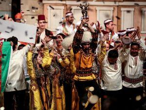 Uluslararası Altın Karagöz Halk Dansları Yarışmasının birincisi Türkmenistan